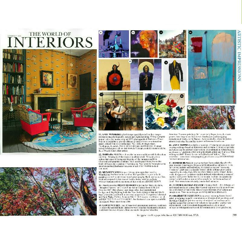 The World of Interiors Magazine – London Design Festival 2017